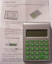 Calcolatrice 8 cifre ad acqua