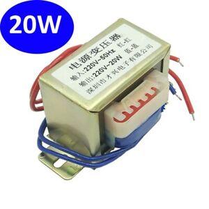 1PCS Isolation Transformer 20W 220V TO 220V 1:1 Safe Isolation Anti-interference