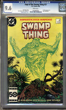 Saga of the Swamp Thing #37 CGC 9.6 NM+ WHITE Pages Universal CGC #1202963032