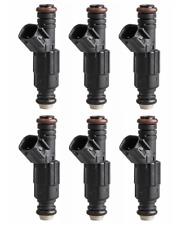 Set (6) Fuel Injectors For 2004-2010  DODGE DAKOTA 3.7  0280158020