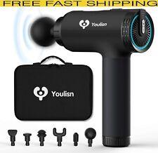 Muscle Massage Gun Portable Handheld Deep Tissue Muscle Relief Massager 6 Heads