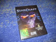 StarCraft 1 e complementari Top tedesco rarità dei 1 parte PC Blizzard Merce Nuova