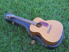 Vintage 1960s Harmony H162 Grand Concert 000 Size Guitar, Brazilian Board? Case