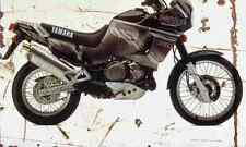 Yamaha XTZ750 SuperTenere 1995 Aged Vintage SIGN A4 Retro