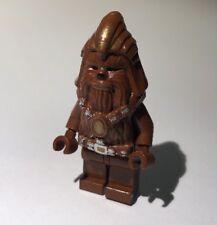 Genuine LEGO Minifigura-STAR WARS-Wookie Warrior-SW132 - 2005