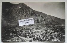 GEORGETOWN CO Republican Mountain in Background Real Photo Postcard RPPC