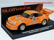 W065-01SP Slotwings Porsche 935 Nurburgring 1977 - Schimpf & Fischhaber - New