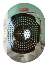 Large Stainless Steel Sink Strainer Stopper, Bathroom, Sink, Food, Hair, Filter.