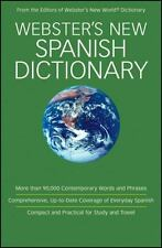 Webster's New Spanish Dictionary