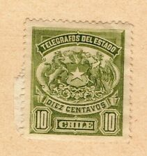 Chile 1904 Early Issue Fine Mint Hinged 10c. NW-09239