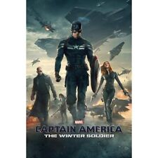 MARVEL CAPTAIN AMERICA MOVIE THE WINTER SOLDIER ONE SHEET POSTER 22x34 NEW