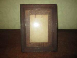 An old oak photograph frame