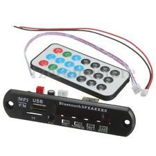 Placa Decodificador Transmisor MP3 WMA Bluetooth 12V Módulo Audio TF USB Coche