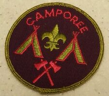 Vintage/New B.S.A Boy Scouts Purple & Pink Camporee patch
