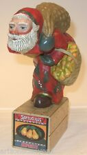Leo Smith Folk Art Orchard Santa Number #1369 Midwest COA SC Box Excellent Cond.