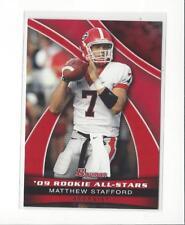 2009 Bowman Draft Rookie All-Stars #AS10 Matthew Stafford Rookie Georgia Lions