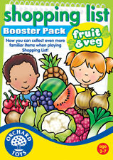 Orchard Toys Shopping List Booster - Fruit and Vegetables