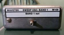 Tested Wavetek M109 Sweep Oscillator Band 1 Module For 2002a Signal Generators