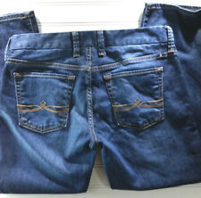 Lucky Brand Jeans Sweet Jean Crop Women's Size 4/27 Distressed Denim