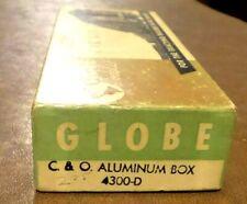HO Globe C&O 40' Chesapeake & Ohio Aluminum Freight Box Car Very Good Condition.
