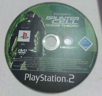 Tom Clancy's Splinter Cell Chaos Theory PS2 (Sony Playstation 2) PAL *Disc Only*