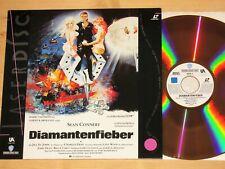 Laserdisc - James Bond 007 - Diamantenfieber - Sean Connery