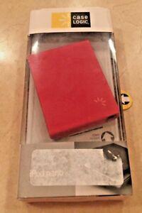 Case Logic iPod Nano Leather Case Pouch - Tomato Red