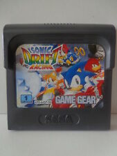 Game Gear Spiel -  Sonic Drift Racing (Modul)
