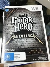 guitar hero metallica wii
