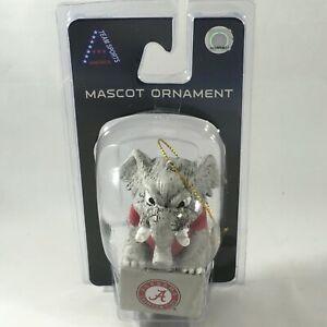 Alabama Crimson Tide Mascot Ornament NCAA Team Sports America