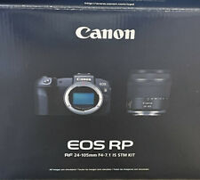 Canon EOS RP Mirrorless Digital Camera with 24-105mm f/4-7.1 IS STM KIT Black