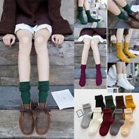 Womens Men Casual Warm Design Fashion Dress High Socks Thick Cotton Sports Socks