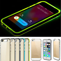 For iPhone 6 6S Plus Clear Crystal Ultra Thin TPU Hybrid Bumper Case Cover Skin