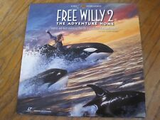 FREE WILLY 2 THE ADVENTURE HOME LASERDISC VG+ TESTED 18200 1995 WIDESCREEN AC-3