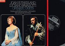 Joan Sutherland Luciano Pavarotti OPERATIC DUETS LP Decca Holland SXL6828 @N/Mnt