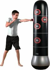 63-in Home Fitness Gym Exercise Boxing Heavy Gloves Punch Speed Mma Punching Bag