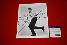 CHUBBY CHECKER the twist signed PSA/DNA 8X10  photo