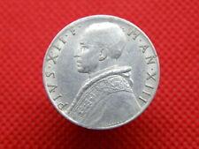 VATICAN CITY - 1951 ALUMINIUM 10 LIRE COIN - POPE PAUL VII - Good Detail (SA01)