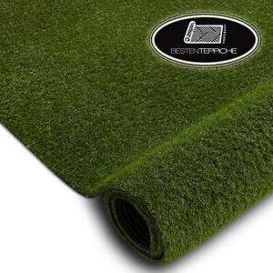 Kunstrasen Rasenteppich WOODLAND grün dick Gras, Wischer, Rasengarten