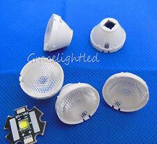 45Degree 21mm Reflector Collimator LED Lens For Cree XM-L XM-L2 T6 U2 L2 frosten