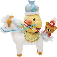 San-X 10th Anniversary Rilakkuma Wonderland Kiiroitori Riding a Horse Plush