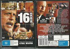 16 BLOCKS BRUCE WILLIS MOS DEF DAVID MORSE MOS DEF CASEY SANDER GREAT NEW DVD