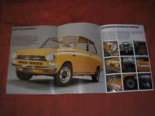 DAF 55 MARATHON  BROCHURE CATALOGO 1971