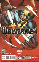 Wolverine  #1   Regular  Cover  Marvel Now!  1st Printing