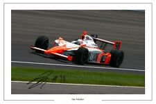 DAN WHELDON INDYCAR AUTOGRAPH SIGNED PHOTO PRINT INIANAPOLIS 500