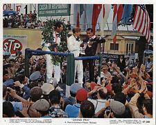 GRAND PRIX ORIGINAL LOBBY CARD JAMES GARNER BRIAN BEDFORD FORMULA 1 MOTOR RACING