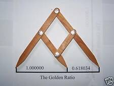 Fibonacci Gauge, Golden Ratio Design Tool, PHI Caliper--THOUSANDS SOLD
