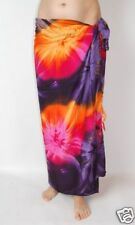 NEW LADIES SARONG SKIRT PAREO WRAP SHAWL THROW ONE SIZE BEACH COVER UP / sa201
