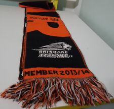 BRISBANE ROAR AUSTRALIAN FOOTBALL CLUB SCARF! SPORTS FAN GIFT ABOUT 140CM LONG!