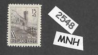 #2548     MNH stamp / 1941 15 + 15 Kon Estonia Ostland / German occupation WWII
